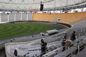 Organiser says venue will be ready for Copa final