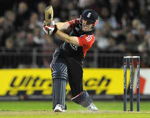 Morgan and Dernbach star in England victory