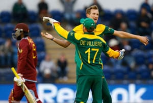 ICC Champions Trophy stats: South Africa, West Indies record first tied match