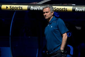 Jose Mourinho booed on Bernabeu farewell