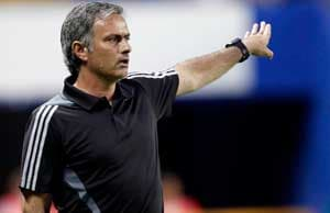 "Mourinho under pressure after ""woeful"" Barca loss"