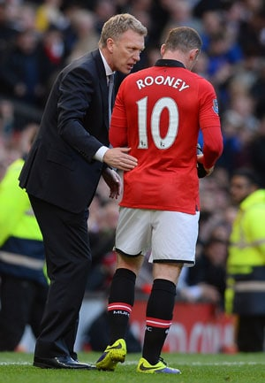 David Moyes coy on Wayne Rooney's Manchester United contract reports