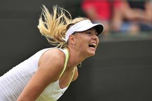 Wimbledon 2012: Scream queen Maria Sharapova backs gruntometer