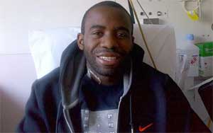Miracle man Fabrice Muamba ties the knot