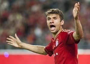 Bayern's Ribery feverish, Mueller wary of Fuerth