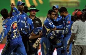 Mumbai's win against Bangalore in statistics