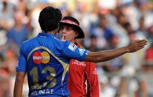 Mumbai's Munaf fined 50 percent of match fee