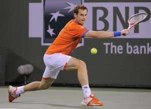 Murray crashes out in Indian Wells opener again