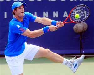 Andy Murray out of Cincinnati, Roger Federer eases through
