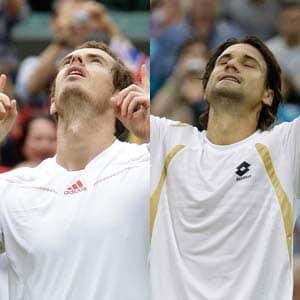 Andy Murray, David Ferrer set-up Wimbledon quarter-final clash