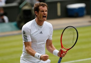 Wimbledon: Andy Murray survives Janowicz, roof rage to set up Djokovic clash