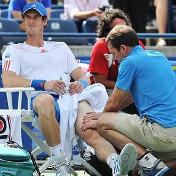 Knee injury forces Andy Murray from Toronto