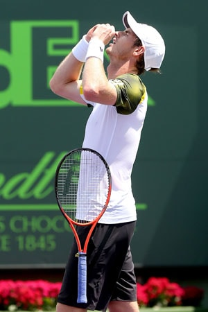 Andy Murray outlasts David Ferrer to win Miami Masters