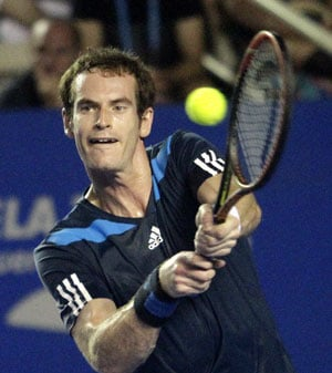 Andy Murray, David Ferrer advance to second round of Mexican Open