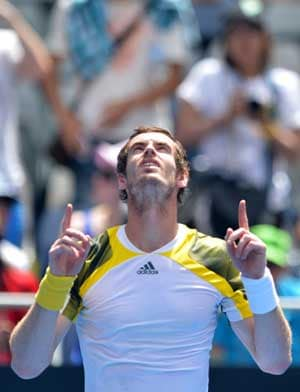 Andy Murray through to Open third round in straight sets
