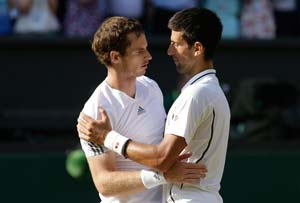Wimbledon: Andy Murray and Novak Djokovic - the new age tennis warriors