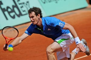 Murray reaches first French Open semifinal