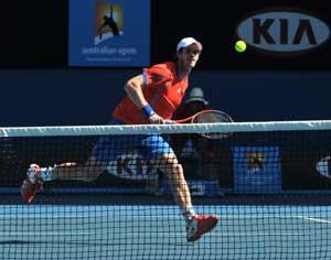 Murray beats Nishikori to reach Australian Open semis