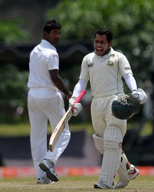History-making Mushfiqur Rahim leads Bangladesh charge against Sri Lanka