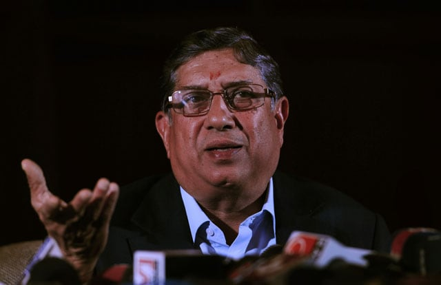 N. Srinivasan defends India's money-minded approach to ICC overhaul