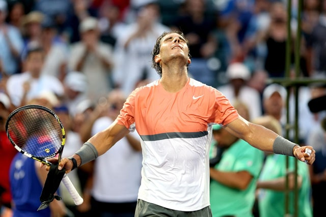 Miami Masters: Rafael Nadal, Stanislas Wawrinka advance to fourth round in straight sets