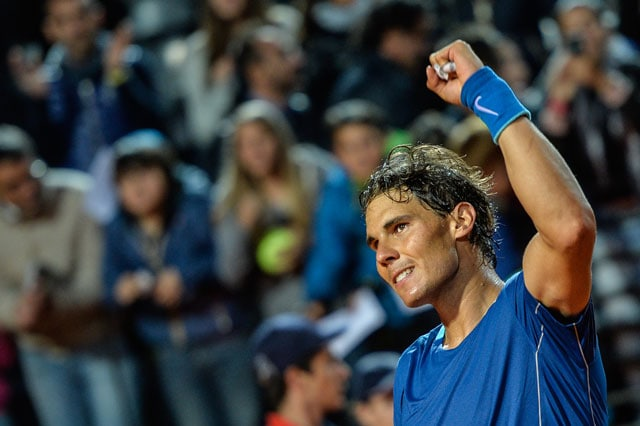 Rome Masters: Rafael Nadal Scrapes Through Into Third Round, Roger Federer Knocked Out