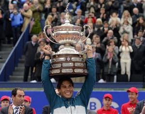 Rafael Nadal wins record eighth title in Barcelona