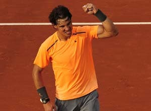 Celebrating at French Open is normal for Rafael Nadal