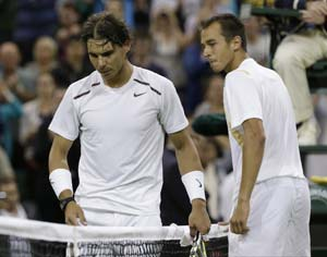 After Rafael Nadal's loss, anything possible at Wimbledon