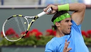 Nadal, Azarenka, Sharapova advance at Indian Wells