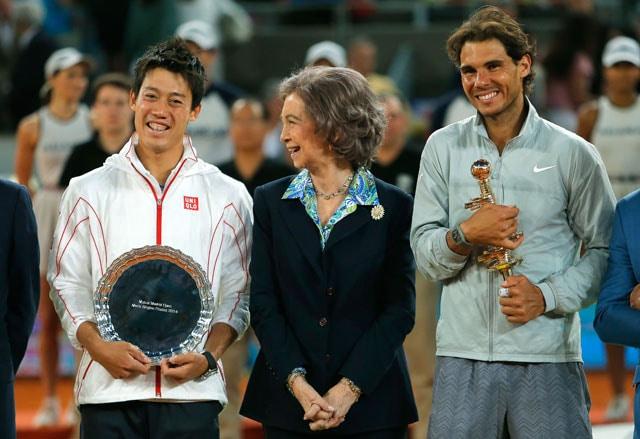Rafael Nadal Wins Madrid Open After Kei Nishikori Withdraws Due to Injury