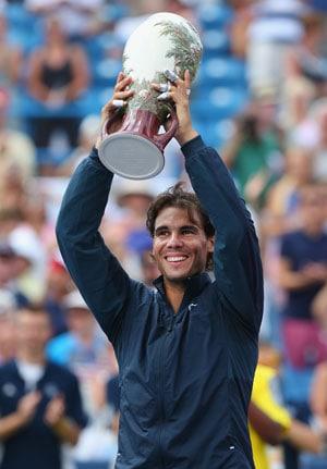 Rafael Nadal wins Cincinnati Masters, claims ninth title of year