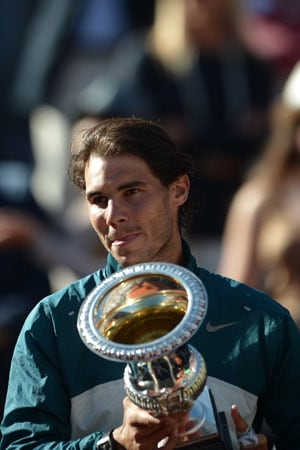 Rafael Nadal crushes Roger Federer to win seventh Rome Masters title