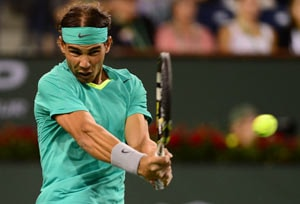 Rafael Nadal defeats Roger Federer to reach Indian Wells semifinal