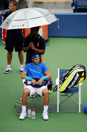 Nadal leads player revolt as chaos grips US Open