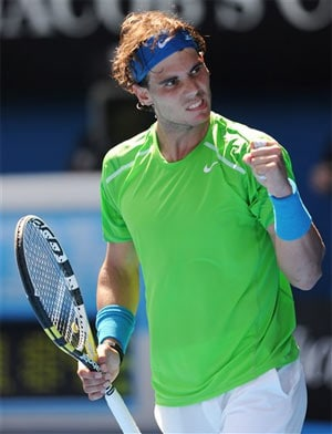 Nadal impressive as Federer takes free pass