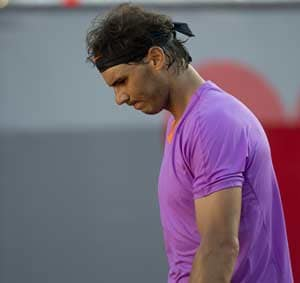 Rafael Nadal denied title in comeback tournament