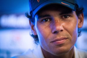 Nadal out of Brazil Open doubles over knee fear