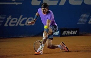 Rafael Nadal advances to second round in Mexican Open