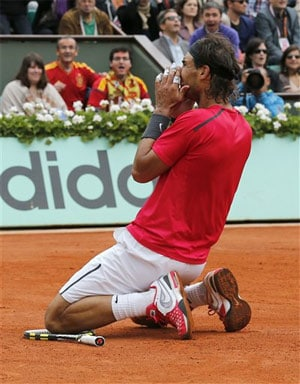 It's just routine for king of clay Rafael Nadal
