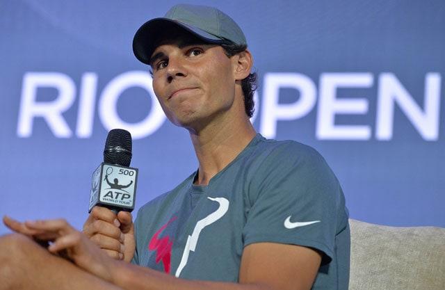 Rafael Nadal to face Daniel Gimeno-Traver in Rio Open first round