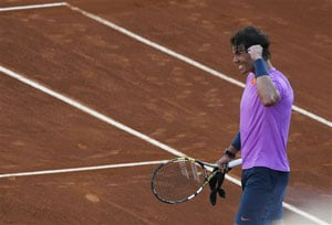 Rafael Nadal through to doubles semi-final in Chile