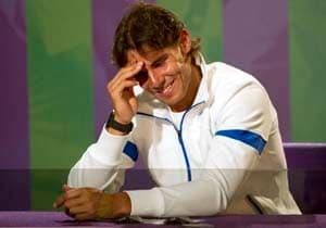 Far from Federer's slam record: Nadal