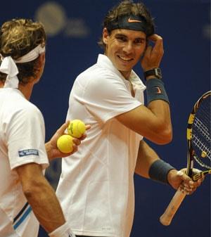 Rafael Nadal wins Round 1 of Brazil Open doubles