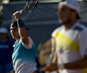 Rafael Nadal launches comeback with doubles win in VTR Open