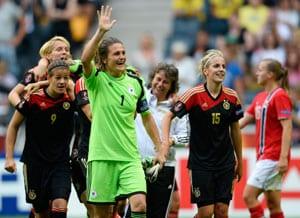 Nadine Angerer the star as Germany win women's European Championship