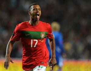 Nani back in Portugal squad for World Cup qualifier against Russia