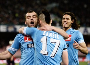 Serie A: Napoli restore nine-point gap as Atalanta stun Inter Milan