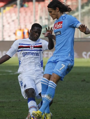 Napoli held to goalless draw by stubborn Sampdoria in Serie A