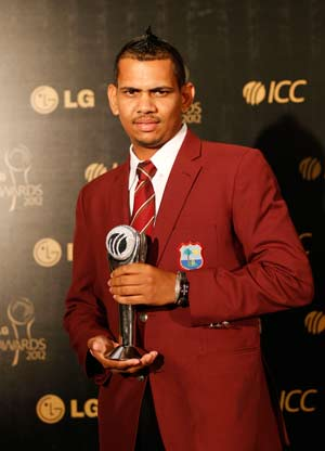 Sunil Narine wins ICC Emerging Player award